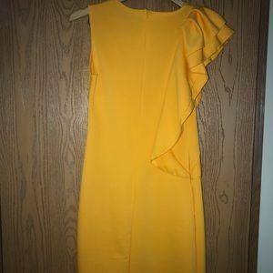 Formal yellow dress
